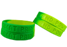 Debossed Wristbands