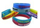 Color Embossed Wristband